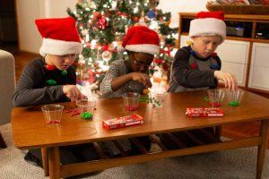 Minute to win it - Kerst