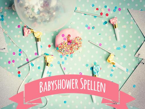 Babyshower spellen pakket