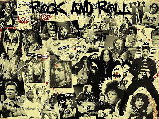 Muziekbingo-rock-legends