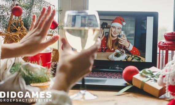 Hoe organsiseer je een online kerstborrel