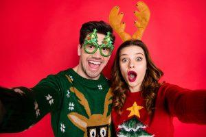 Online muziekbingo in het kerst thema