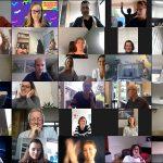online teamuitje organiseren header