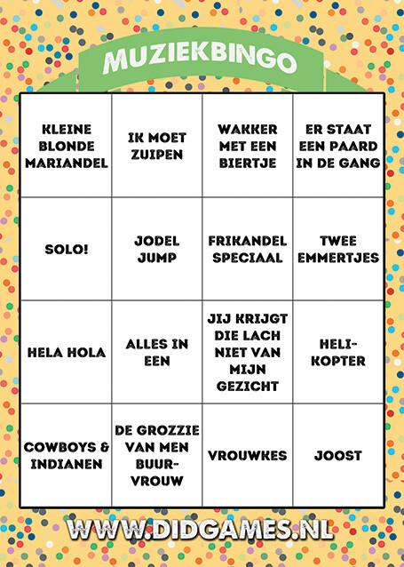 online-muziekbingo-carnaval-bingo-1