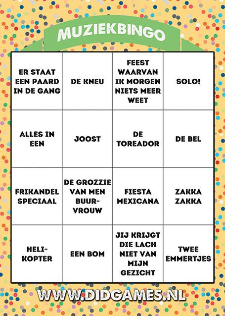 online-muziekbingo-carnaval-bingo-2