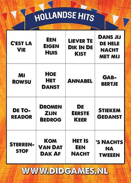 Online-muziekbingo-hollandse-hits-2