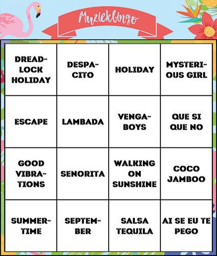 online-muziekbingo-kaart-summer-hits-didgames